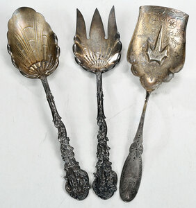Three Sterling Serving Pieces
