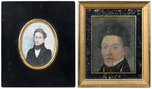 Two American School Portraits