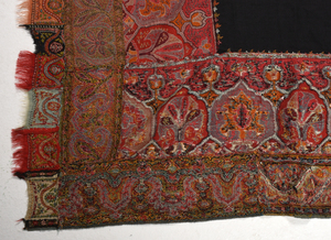 Three Paisley Shawls and One Quilt