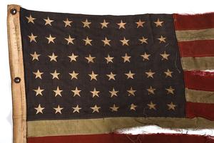 World War II U.S. Flag, Battle of Okinawa
