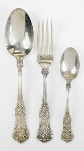 King Sterling Flatware, 35 Pieces