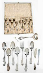 23 Pieces Tiffany Sterling Flatware