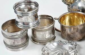 36 Pieces Sterling Hollowware