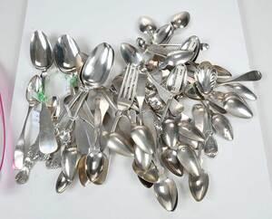 60 Pieces Coin Silver Flatware