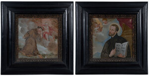 A Pair of Italian School Paintings