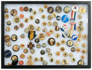 Approximately 100 Pinback Buttons