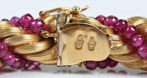18kt. Gemstone Bracelet