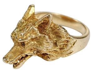 14kt. Fox Head Ring