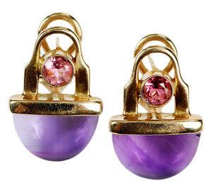 14kt. Gemstone Earrings
