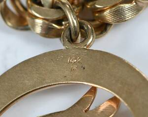 14kt. Charm Bracelet