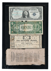 Group of Four Eclectic Banknotes
