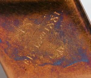 Antique 18kt. Gemstone & Enamel Pendant