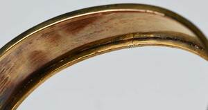 Antique Gold and Seed Pearl Hinged Bracelet