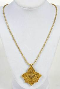 Memo 18kt. Pendant and Necklace
