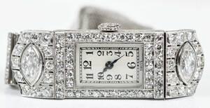 Art Deco Platinum & Diamond Watch