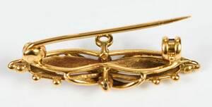 Antique Gold Topaz Boxed Parure