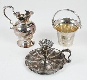 Three Pieces Georgian English silver Hollowware