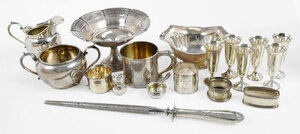 32 Sterling Table Items