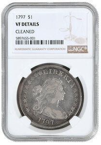 1797 Silver Dollar
