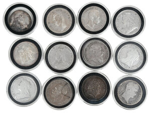Group of Foreign Silver Coins