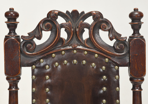 American William and Mary Upholstered Side Chair