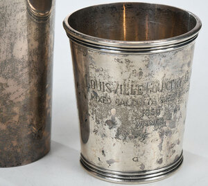 Four Sterling Juleps/Tumbler