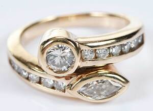 14kt. Diamond Ring