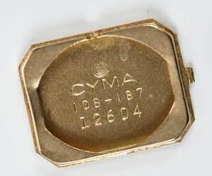 Cyma 14kt. Diamond Watch
