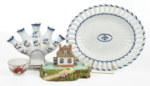 Four Assorted English Ceramic Table Items