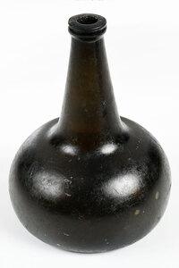 Blown Glass Onion Bottle