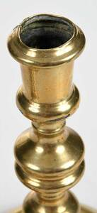 Pair of British Brass Candlesticks
