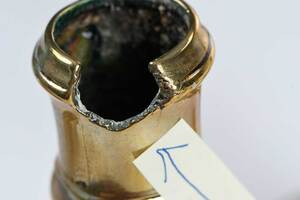 Three Pairs of Georgian Brass Candlesticks