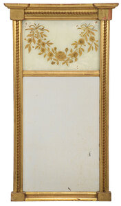 Two Federal Giltwood Mirrors