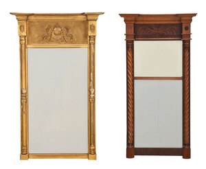 Two 19th Century American Mirrors