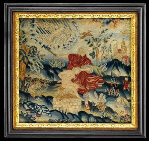 Stuart Wool Needlework, Sacrifice of Isaac