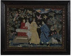 Queen Anne Wool and Silk Needlework