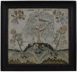 1809 American Silk Needlework