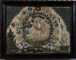Charles I Silk and Metallic Thread Needlework