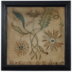 New England Floral Embroidery