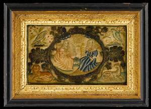 Fine Charles II Allegorical Needlework