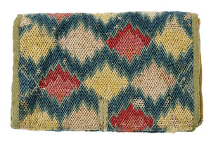 American Wool and Canvas Flame Point Wallet