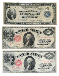 Group of U.S. Currency