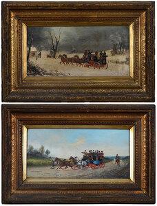A Pair of British School Sporting Paintings