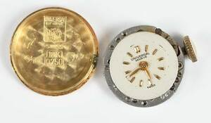 Two Retro Gold Watches