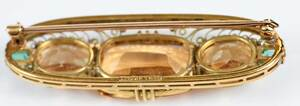 Antique Tiffany & Co. 18kt. Brooch