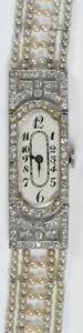 Antique French Platinum & Gold Watch