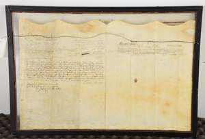 1750 New York State Land Indenture