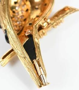 Van Cleef & Arpels 18kt. Gemstone Owl Brooch
