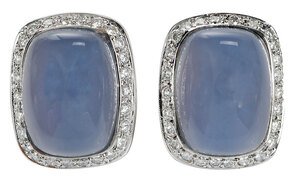 14kt. Diamond and Gemstone Earrings