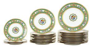 27 Piece Minton, Tiffany & Co. Porcelain Service